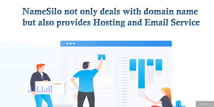 NameSilo New Ancillary Hosting and email Services