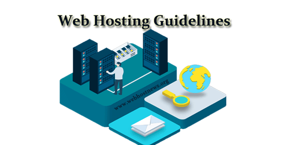 Web hosting guidelines