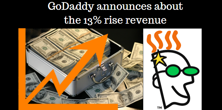 Godaddy announces about the 13% rise in revenue