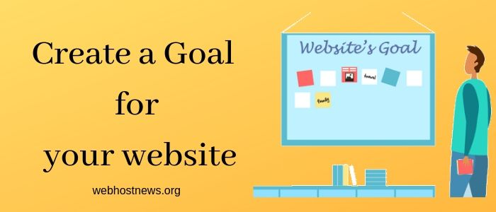 Create a Goal for your website