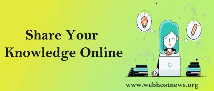 Share-your-knowledge-online