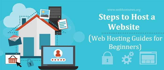 Steps to host a website